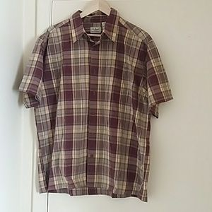 L.L .Bean Men Shirt 100%Cotton Large Reg